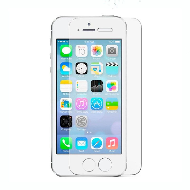 iphone 5 5s 5c se film en verre tremp 9h 2 5d. Black Bedroom Furniture Sets. Home Design Ideas