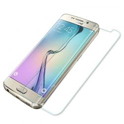 Samsung Galaxy S6 Edge - Tempered glass screenprotector 9H 2.5D