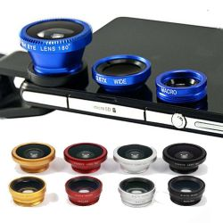 Fish Eye 3 in 1 universele clip