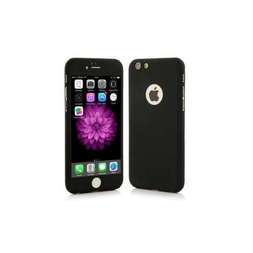 Beschermhoes 360 ° + gelakt glasfolie voor iPhone 6 en iPhone 6S