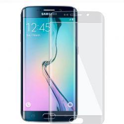 Samsung Galaxy S6 Edge - Film en verre trempé incurvé 9H 3D